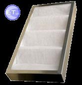Фильтр кассетный воздушный многоразовый для вентиляции фвкас «KRAB»